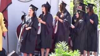 Juliana Glenn Receives Her Masters Degree At University of Redlands 2013