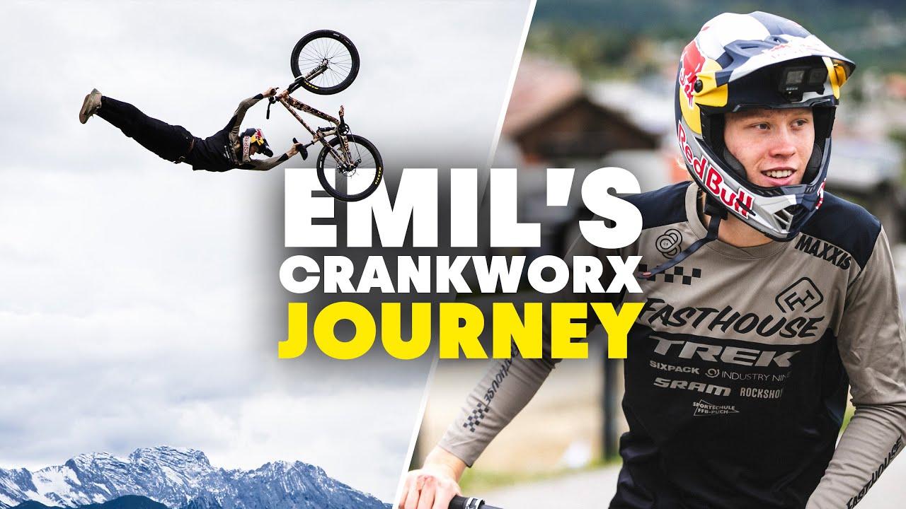 Emil Johansson Conquistando o Crankworx Innsbruck!