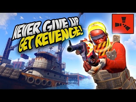 THE ULTIMATE REVENGE! NEVER GIVE UP! - Rust SOLO Survival Gameplay