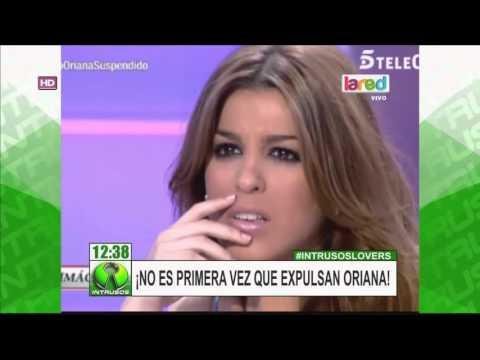 ¡Exclusivo! Imagenes De Expulsión De Oriana De Programa Español
