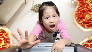 용암 탈출 어떻게 할까요? 서은이의 방탈출하기 용암효과의 비밀 방탈출 신비아파트 금비 Escape Lava Room Seoeun Daily Story