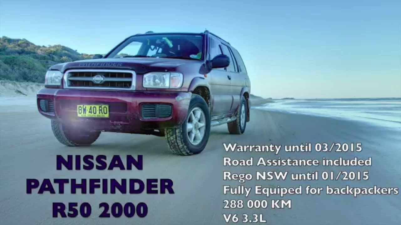 nissan pathfinder r50 2000 v6 3.3 for  $5500 for backpackers