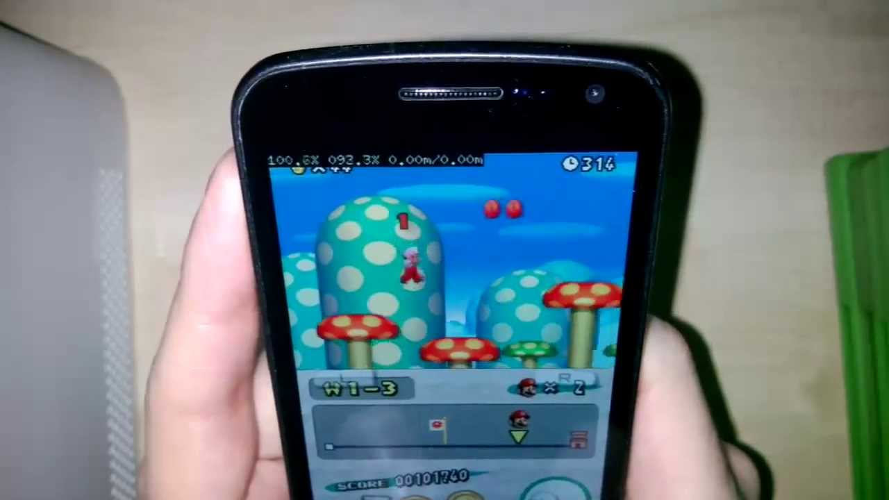 Nintendo DS Emulator (DraStic) on Android Phone - YouTube