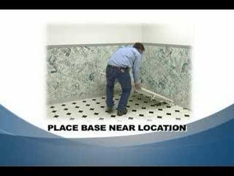 Stean Shower install