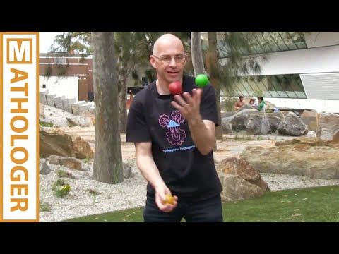 The Mathematical Soul Of Juggling