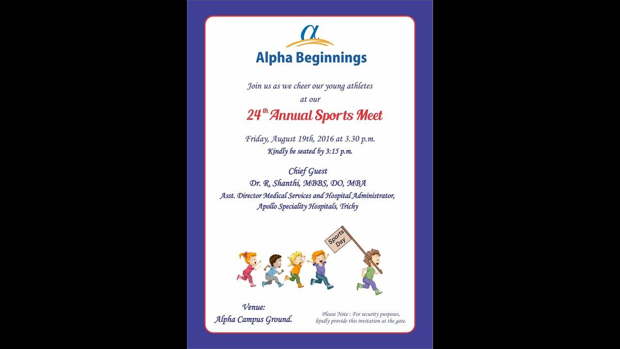 24th Annual Sports Meet 201617 YouTube