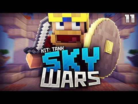 ALLE KITS TESTEN?! Tank finde ich SUPER :D ★ Minecraft PvP - Skywars [11]