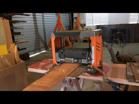 RIDGID 13 in. Thickness planer Review