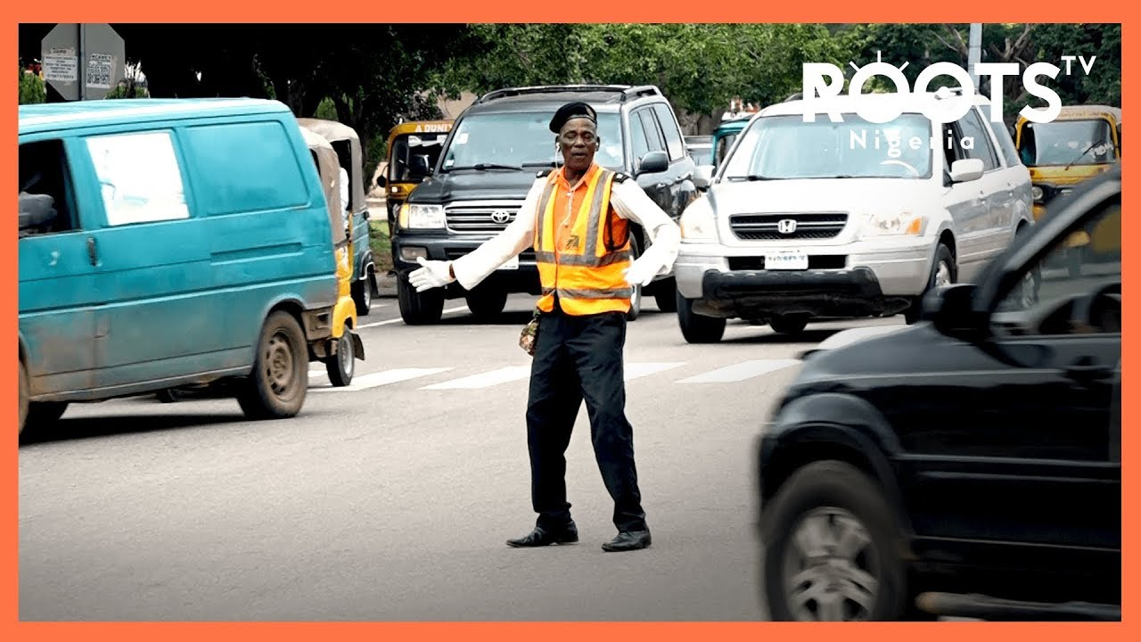 Selbol Audu the passionate dancing Abuja City Traffic warden
