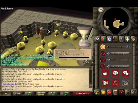 07 Old School Runescape Thieving Guide Levels 21+: Pyramid Plunder