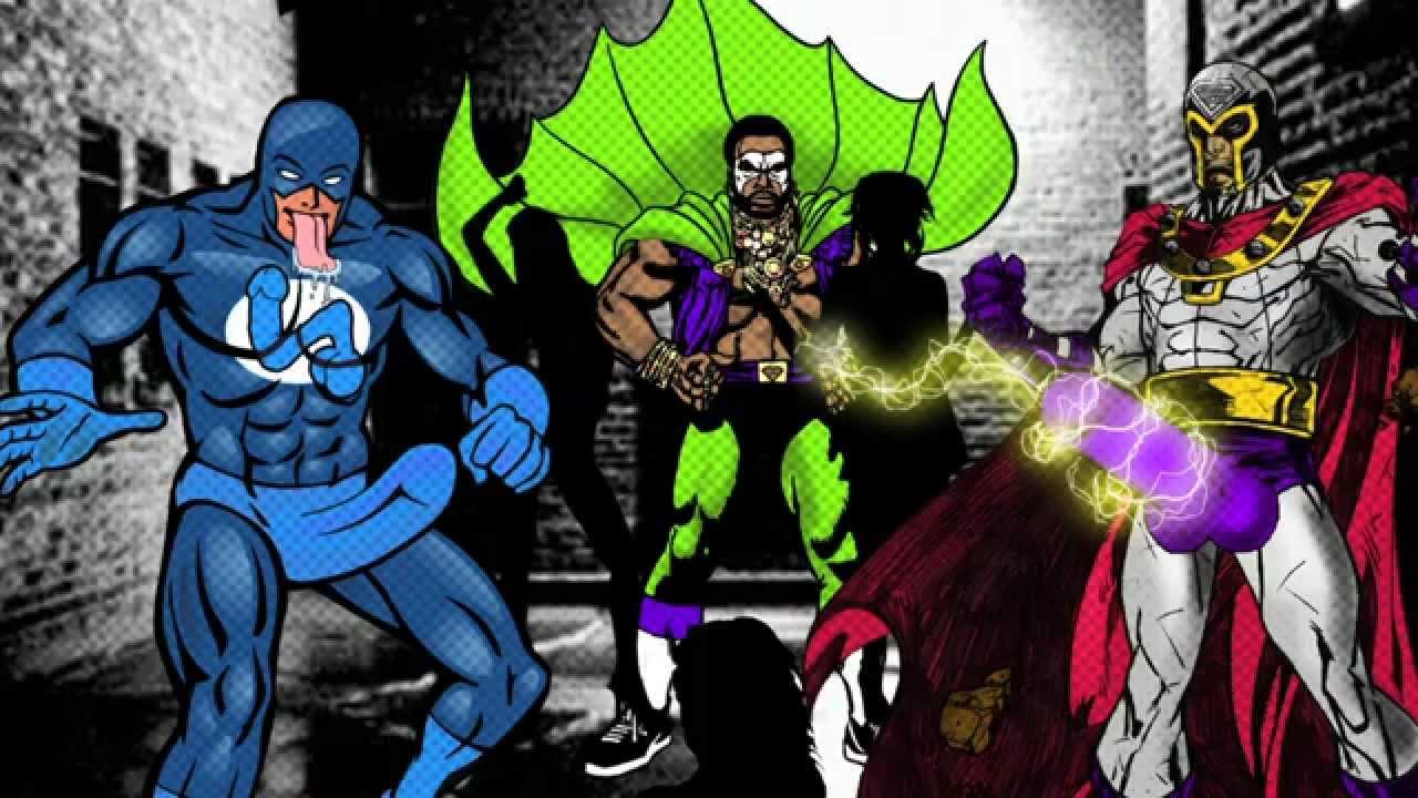 Super Heroes del Sexo - ( Toel Nakaroti Esso & XxXiko
