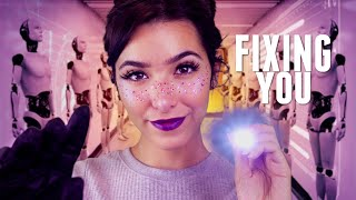 ASMR Fixing You: Before You Go On Sale (Ear exam, Cranial ne...