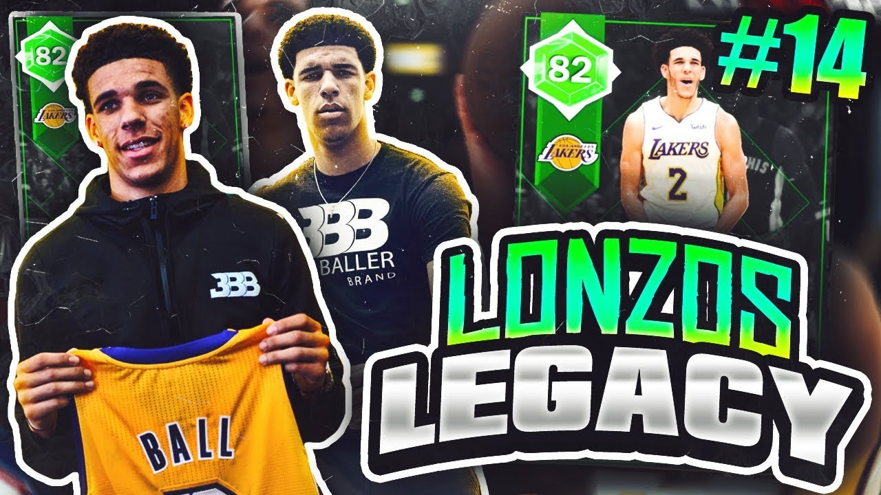 LONZOS LEGACY  14 - NEW TEAM DEBUT!! NBA 2K18 MYTEAM! - YouTube cf70dd73c