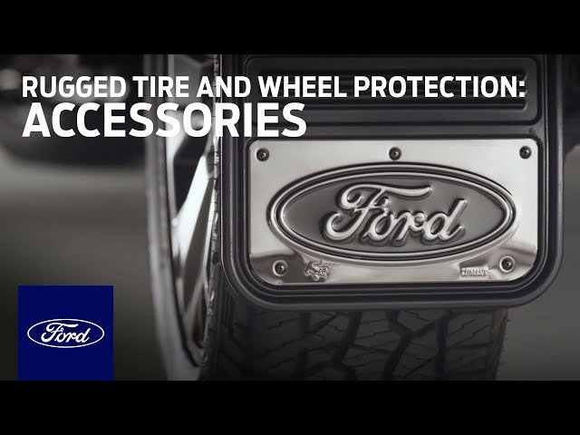Ford Splash Guards: Rugged Tire and Wheel Protection | Accessories | Ford