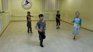 Видео-урок (I-семестр: декабрь 2017г.) - филиал Центральный, группа 4-7 лет, Уличный танец