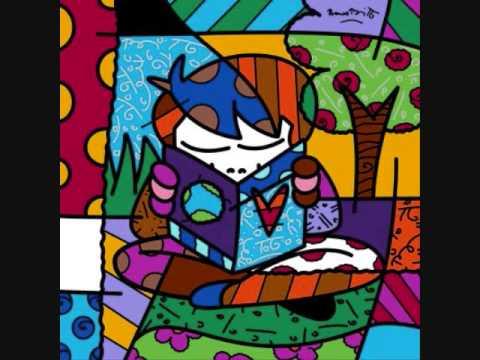 Romero Britto Texturas gráficas - YouTube