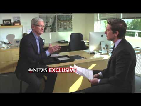 Tim Cook | EXCLUSIVE Interview on Apple's Privacy Decision