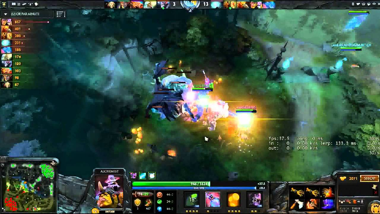 Dota 2 Alchemist GPM RECORD REUPLOAD IN DESCRIPTION K THX YouTube