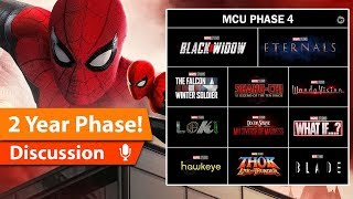 MCU Unloads Phase 4 & Teases Phase 5 Announcements