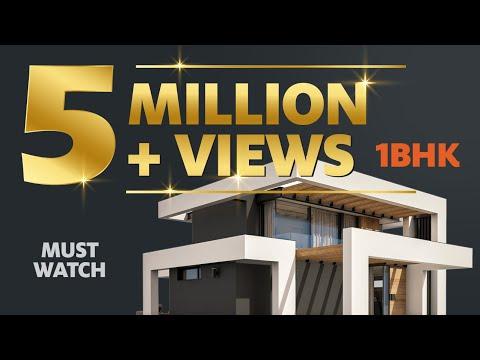 1 BHK Flat Low Cost | Interior design Budget Plan | 1 BHK House Tour | Part 1 - Workbook