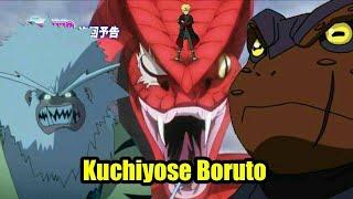 Gambar cover Boruto bisa memanggil 4 hewan kuchiyose sekaligus, BORUTO: NARUTO NEXT GENERATIONS