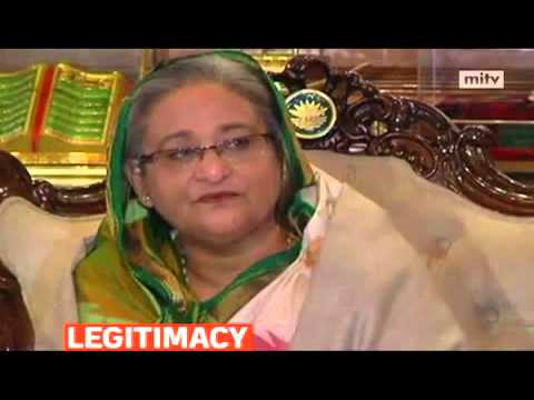 Bangladesh's PM Sheikh Hasina surpass win in an election boycotted by the opposition was legitimate