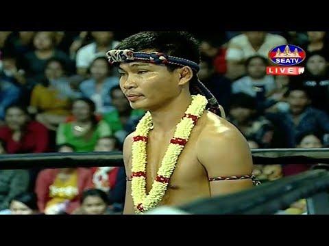 Dun Rotha vs Petcharun(thai), Khmer Boxing Seatv 20 May 2018, Kun Khmer vs Muay Thai
