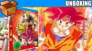 Unboxing - Dragonball Super - Box 01 - 1. Arc: Kampf der Götter - Deutsch