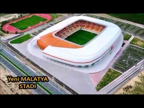 Türkiye'nin Yeni Modern Stadları - 2017