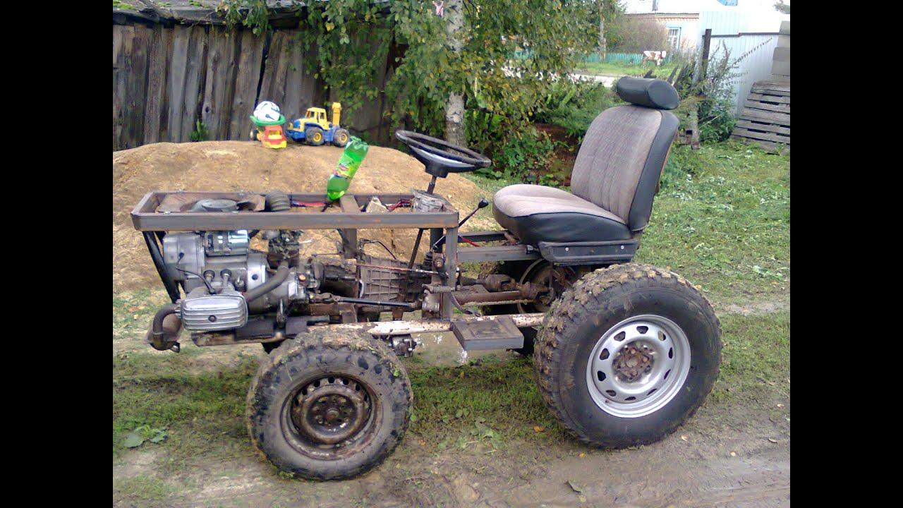 Своими руками сделать трактор 144