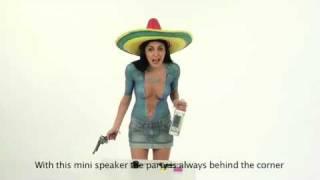 Veronica Ciardi video completo in bodypainting per campagna pubblicitaria hifun-hiBomb