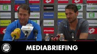 SK Sturm: Mediabriefing vor FC Salzburg (10. Runde 2016/17)