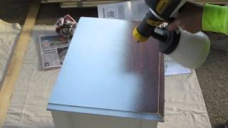 Wagner Flexio 585 - Spraying Furniture Demo