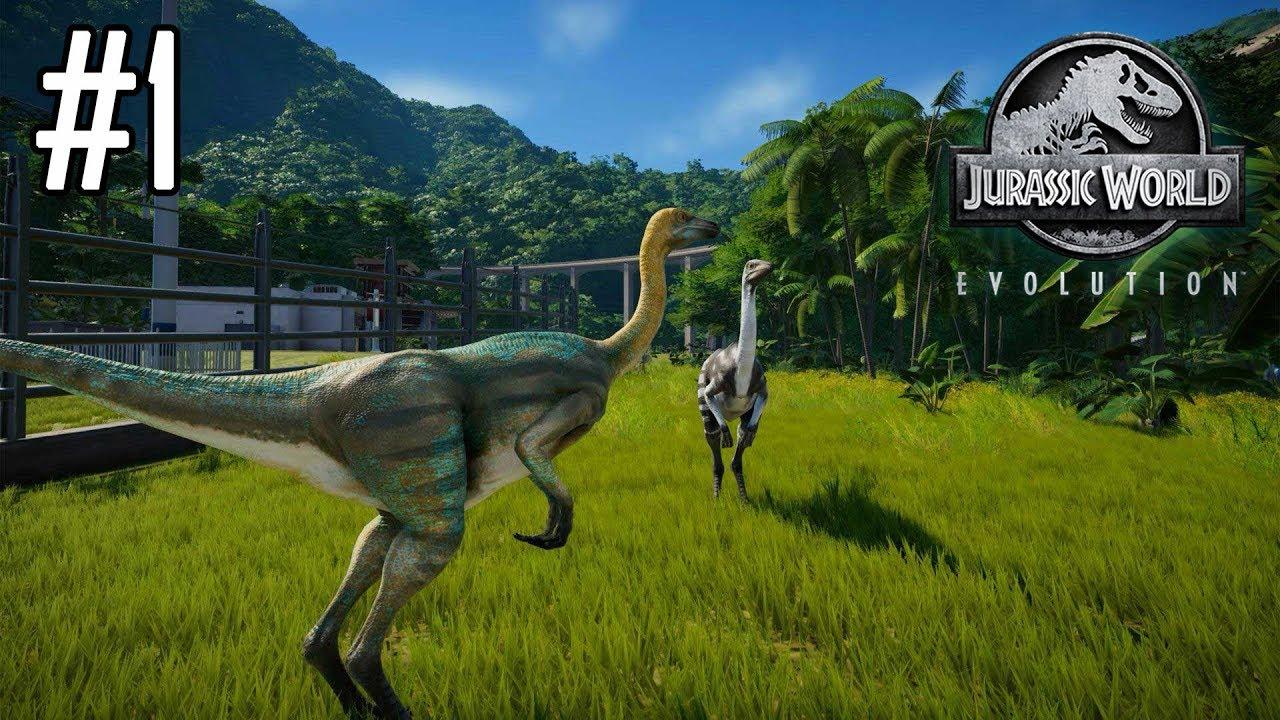 Jurassic world evolution 1 mon parc d 39 attraction de dinosaures youtube - Film de dinosaure jurassic park ...