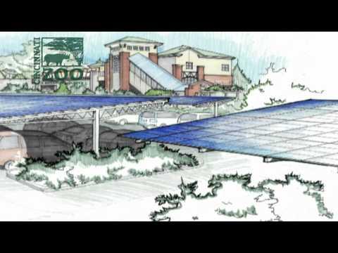 Solar Canopy-Cincinnati Zoo-Melink