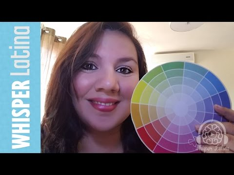 ASMR MAKEUP ROLE PLAY | Finding your perfect Colors