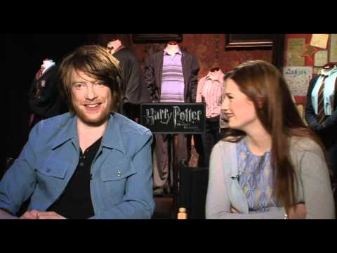 Thumbnail: Ginny Weasley and Bill Weasley talk kissing Harry Potter with Brad Blanks