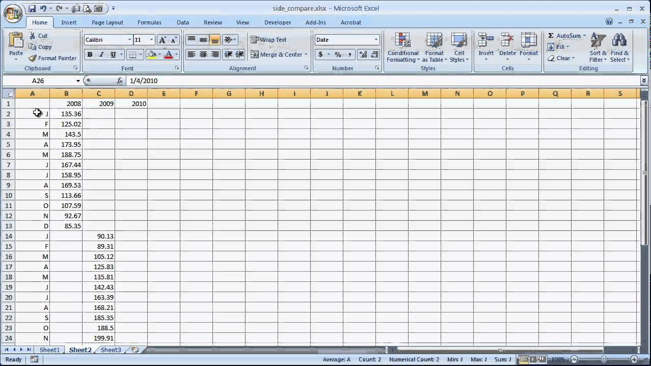 how to draw a line in a table in excel