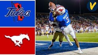 Tulsa vs #24 SMU   Week 6   College Football Highlights   2019