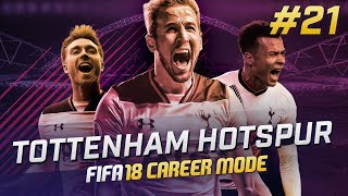 Fifa 18 tottenham career mode ep21 - amazing goals!!