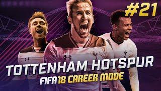 Fifa 18 tottenham career mode ep21 - amazing goals!!
