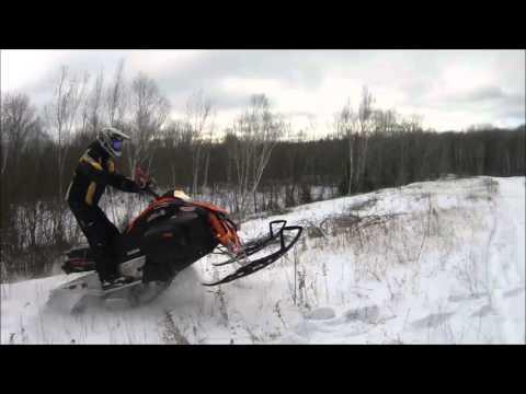 First snow fall 2016 Yamaha Phazer 500
