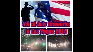 4TH OF JULY FIREWORKS AT CAESAR