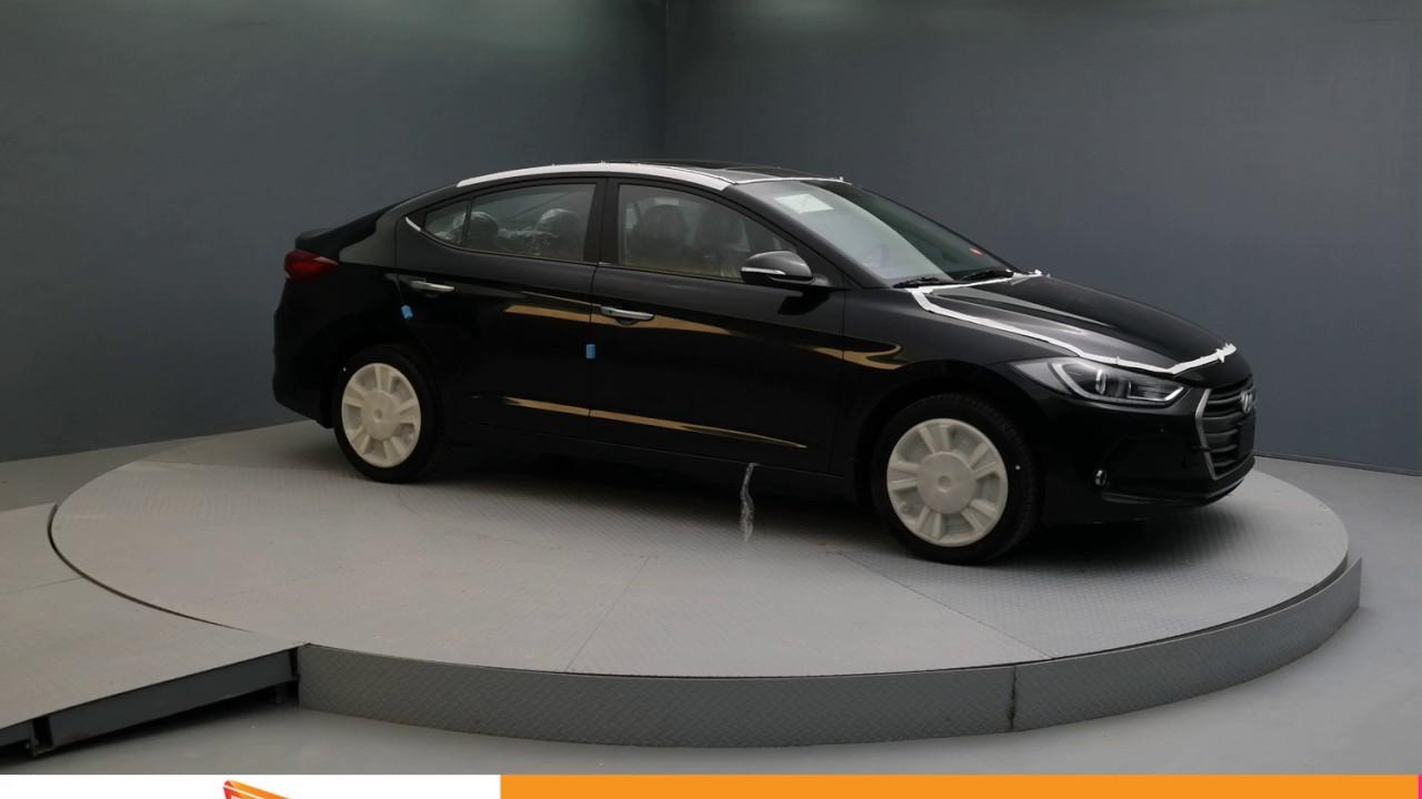 2017 Phantom Black Hyundai Elantra Sedan Am106899 Youtube