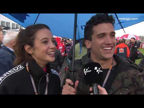 Los actores de La Casa de Papel visitan MotoGP™