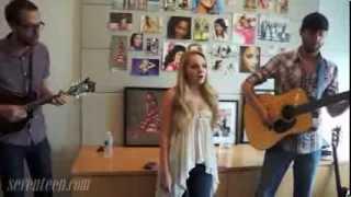 "Danielle Bradbery sings ""The Heart Of Dixie"""
