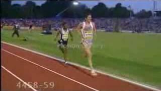 Haile Gebrselassie - His best finish !