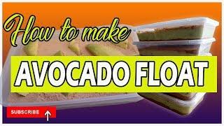 How to Make Avocado Float