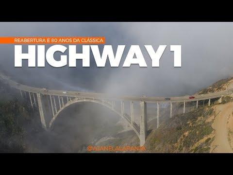 Highway 1, a reinauguração e a comemoração de 80 anos. Uma viagem para Santa Barbara na California.