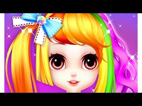 Hair Salon For Princess Makeup - Fun Hairstyle Games For Girls